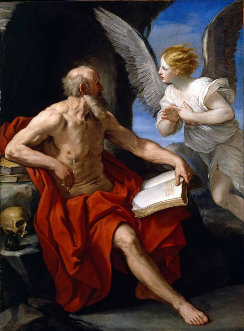 Saint Jerome and the Angel   Renee Guido