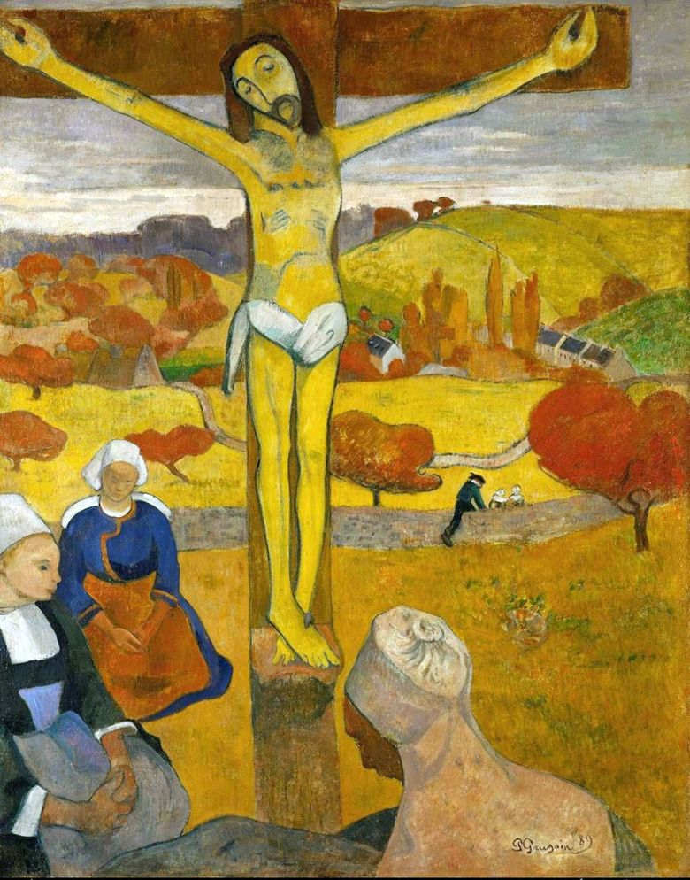 Gula Kristus   Paul Gauguin