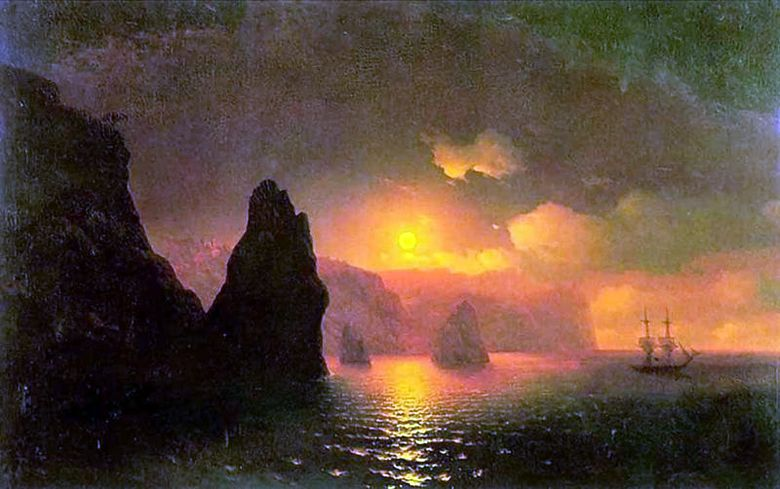 St. George kloster   Ivan Aivazovsky