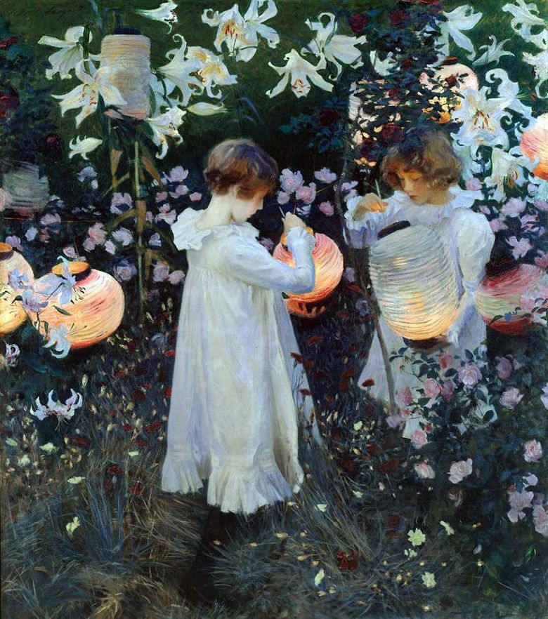Carnation, Lily, Lily, Rose   John Sargent
