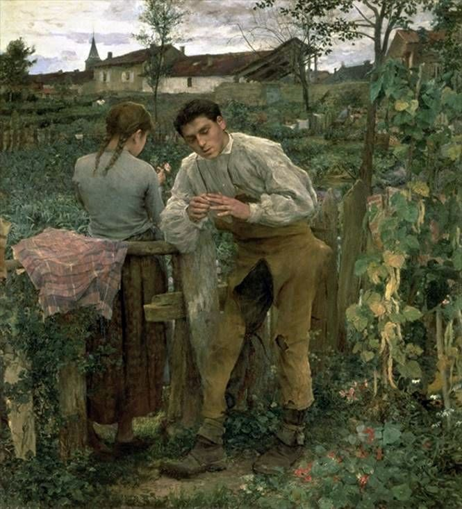 Country Love   Jules Bastien Lepage