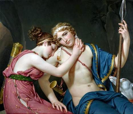 Resan till Telemachus   Jacques Louis David
