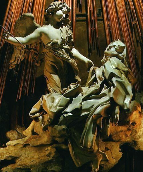 Ecstasy of Saint Theresa   Lorenzo Bernini