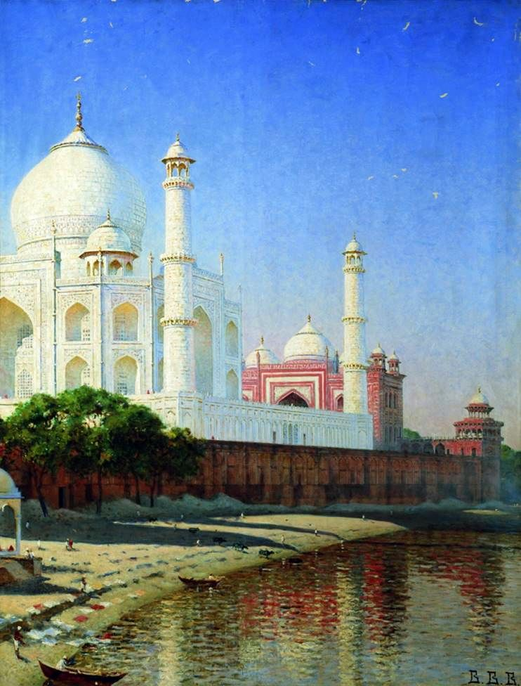 Mausoleum Taj Mahal   Vasily Vereshchagin