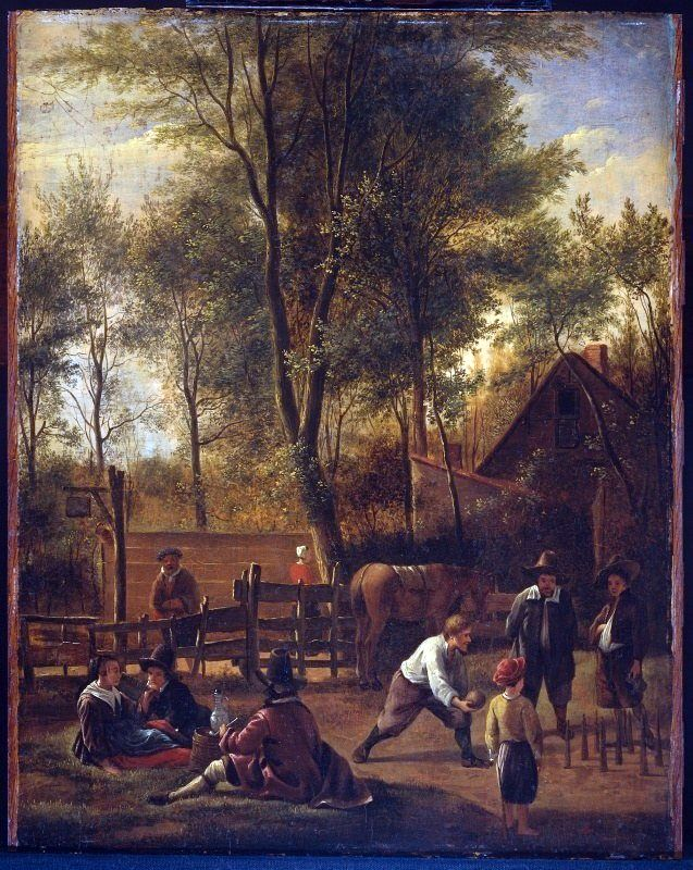 Bowling   Jan Steen