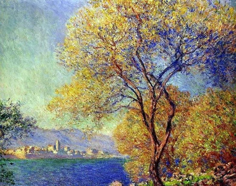 Antibes på morgonen   Claude Monet