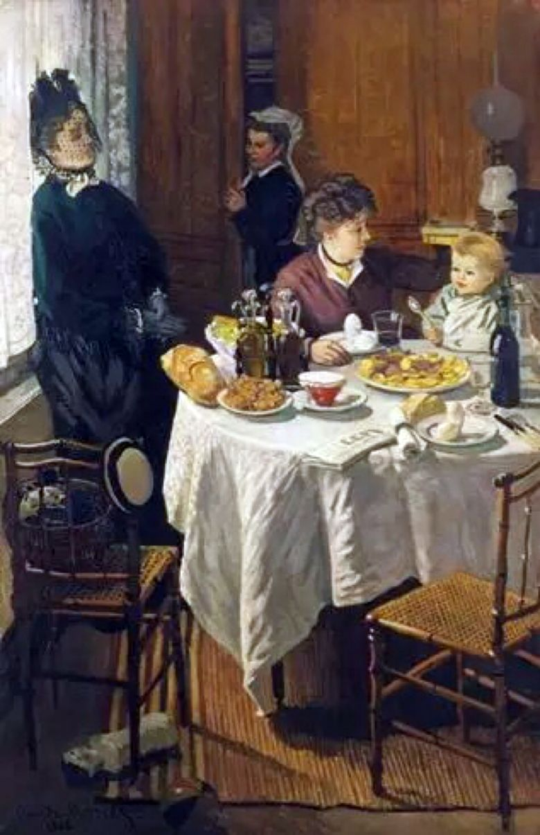 Frukost   Claude Monet
