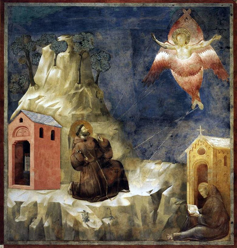 The Stigma of St. Francis   Giotto