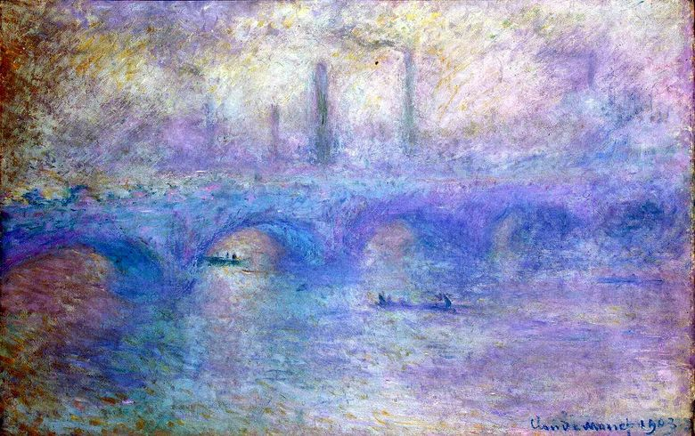 Waterloo Bridge   Claude Monet