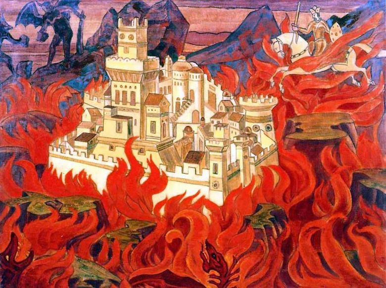 Purest Hail   Anger to Enemies   Nicholas Roerich