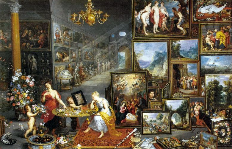 Allegory of View   Jan Bruegel